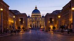 San Pietro (Aleszurb) Tags: vatican rome roma italia vaticano tevere sanpietro