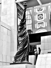 Bartholdy (Leonce Markus) Tags: blackandwhite paris art statue museum muse libert orsay musedorsay bartholdi orsaymuseum blackandwhiteonly