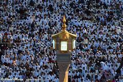 Over 1.5 million Muslims performing Eid prayer (Ahmad Mortaja) Tags: people architecture photography worship view shot god space minaret islam prayer religion eid mosque arab dome saudi arabia medina muslims majestic ramadan saudiarabia prayers  allah mosques ksa prophets     worshipers            eidalfitr                 d5300   medinalive