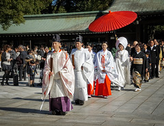 Wedding procession (Tigra K) Tags: 2012 japan church circle city color dress object people portrait shape wedding
