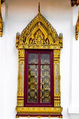 2016_04-Bangkok-M00037 (trailbeyond) Tags: architecture asia bangkok building frame gold location outdoors pattern religiousbuilding temple templeoftheemeraldbuddha texture thailand thegrandpalace watphrakaew white window