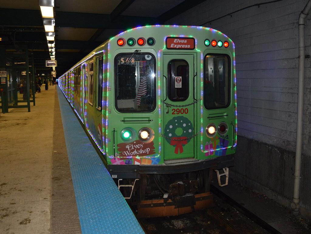 elves express robby gragg tags cta mu 2900 wilmette holiday train - Cta Christmas Train 2014
