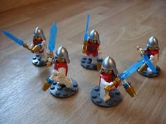 Knights of Dobrzyń (Śląski Hutas) Tags: lego bricks minifigs medieval scifi futuristic poland polska crusaders