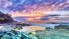 sunrise snapper rocks (rod marshall) Tags: sunrise beachsunrise oceansunrise