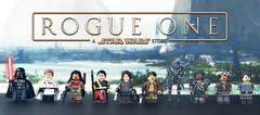 LEGO Rogue One : A Star Wars Story Minifigures (MGF Customs/Reviews) Tags: lego star wars rogue one story 2016 jyn erso cassian andor darth vader director orson krennic saw gerrera galen bodhi rook k2so chirrut imwe baze malbus felicity jones diego luna mads mikkelsen forest whitaker donnie yen empire rebellion rebel alliance death plans data tapes scarif battlefront custom figure minifigure showcase collab collaboration