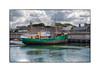 Musée de la pêche (MOINELE) Tags: musée pêche bretagne concaneau finistère rempart bateau chalutier port mer océan lumière ombres vert nuages cornouaille