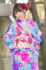 278A0121 (tsuchinoko36) Tags: 小越しほみ モデル レースクイーン 浅草 撮影 撮影会 riddle撮影会 振袖 ポートレート portrait 写真 japan furisode 着物 kimono