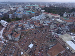Istanbul Grand Bazaar from the Sky (CyberMacs) Tags: turkey türkiye istanbul constantinople airphotos aerial phantom3 sky cami camii mosque islam islamic islamicarchitecture beyazitcamii kapalıçarşı grandbazaar fatih eminönü