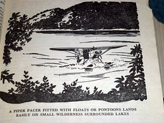 1952 The Wise Fishermen's Encyclopedia  (214) (Photo Nut 2011) Tags: 1952 thewisefishermensencyclopedia plane piper pacer floats pontoons