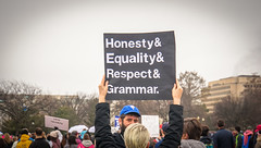 2017.01.21 Women's March Washington, DC USA 2 00157