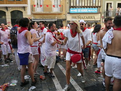 The party never ends during San Fermin!