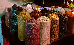 Spice souq in Dubai. (T is for traveler) Tags: travel traveling traveler dubai spice souq souk dairy story market