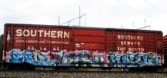 palo - lopro - nezoh (timetomakethepasta) Tags: palo lopro nezo ync lae wh kbt freight train graffiti art boxcar southern