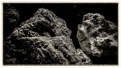 like asteroids (tomsyrk) Tags: steine felsen landschaft stone asteroid asteroids weltraum gestein landscape space outer mono monochrome monochrom schwarzweiss blackandwhite blackwhite blancoynegro blacknwhite black noireblanc noiretblanc bw bwd sw moon mond mondstein schwarz dunkel all weltall wasser water waterscape wasserlandschaft makro