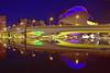 Valencia Monteolivete Bridge (gerard eder) Tags: architecture architektur arquitectura ciudaddelasartesyciencias cityofartsandsciences stadtderkünsteundwissenschaften calatrava santiagocalatrava valencia reflections spiegelung world travel reise viajes outdoor city ciudades städte europa europe españa spain spanien bluehour blue