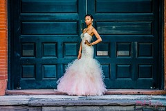 Confidence (maryjoboyles) Tags: attitude prom dress gowns seniors highschool graduating outdoor fashion glamour