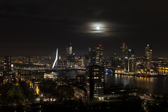 Sky High (Brrr Urbex - www.preciousdecay.com) Tags: rotterdam euromast skyline city urban night nightphotography