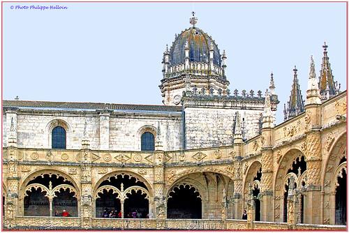 Lisbonne ©Cloitre et église des Jéronimos