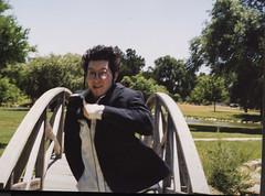 Scan_20170110 (arterial spray) Tags: 1996 1997 antihero dalliswillard dreadlocks dreads highschool hutchinsonhighschool kansas seniorportrait skater 35mm film