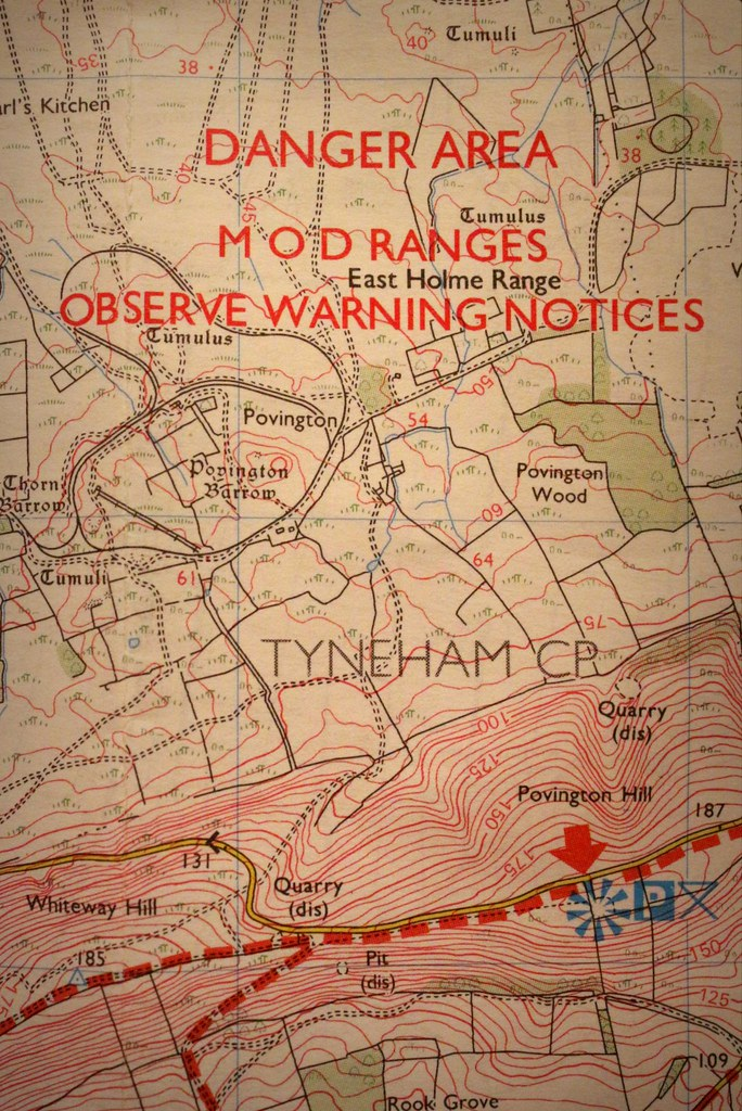 The worlds newest photos of map and ordnancesurvey flickr hive mind dorset october 2016 johnny the cow tags map ordnancesurvey danger area mod sciox Images