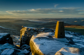 Trig Point, Stanage Edge