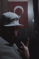 Flag (cambazghettostar34) Tags: flag turkish men badboy westside brooklyn istanbul avcılar door eyes hiphop studio house cap nevera beard nike airjordan photography underground city home rap ghetto grey