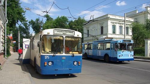 Irkutsk mainteniance trolleybus 175 ©  trolleway