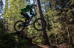 Dirtbike (Julian Hofmann Photography) Tags: sport forest canon scott jump ride action trails wald freeride nrnberg enduro eos70d