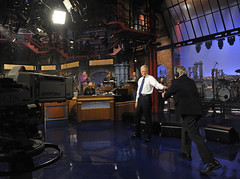The Late Show with David Letterman (rds323) Tags: usa newyork television tv unitedstates manhattan lateshow davidletterman lateshowwithdavidletterman edsullivantheater tvstudio thelateshow