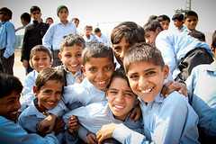 Boys From Ari Kheri School in Pakistan