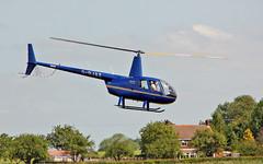 """G-OJAZ Robinson R.44 Raven II Sturgate  EGCV Fly In 07-06-15 (PlanecrazyUK) Tags: """"fly in"""" sturgate 070615 robinsonr44ravenii egcv gojaz"""