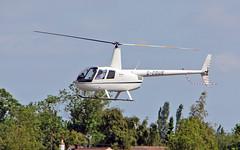 G-CDUE Robinson R.44 Raven II (PlanecrazyUK) Tags: fly in sturgate 070615 robinsonr44ravenii egcv gcdue