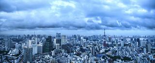 Tokyo Dusk Panorama