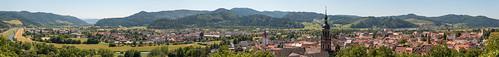 Panorama sur Gengenbach