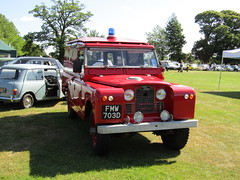FMW 703D (markkirk85) Tags: bus fire day iii rally engine running rover land series wiltshire alton appliance brigade 2015