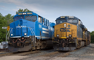 Conrail and CSX on the Old Milwaukee at Hastings, MN