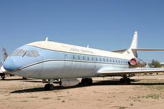 N1001U (GH@BHD) Tags: arizona museum tucson aircraft aviation pima preserved airliner caravelle sudaviation aerospatiale pimaairspacemuseum aeroservice n1001u caravelle6r westerngeophysicalcorporation
