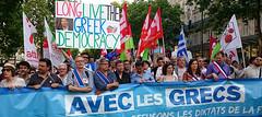 manifestation de soutien  Tsipras (shashin328) Tags: paris grce particommuniste tsipras mlenchon partidegauche