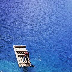 Tan azul #Lagunas #MonteBello #Chiapas #Mxico (Greitas) Tags: square squareformat lark iphoneography instagramapp uploaded:by=instagram