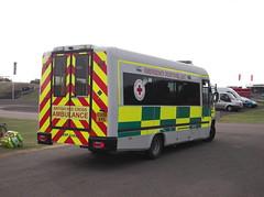 British Red Cross Irisbus Daily (EU08 AVG) (Neil 02) Tags: britishredcross brc ivecodaily irisbusdaily eu08avg ambulance paramedic ems emergencyservices emergencyresponseunit britishgrandprix silverstone northamptonshire