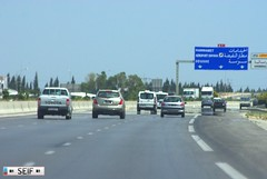 toward Hammamet Tunisia 2015 (seifracing) Tags: road rescue cars europe motorway police voiture vehicles vans van emergency polizei spotting services polizia ecosse seifracing