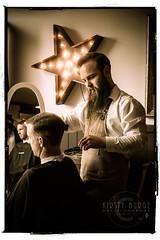 The Groom Room popup (Kirsty Burge) Tags: uk man brewing hair beard groom room sony scissors grooming devon barber shave mens co fade dapper totnes a99
