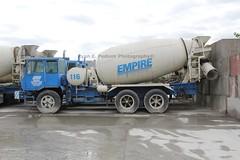 Empire Transit Mix (193) (RyanP77) Tags: new york city truck concrete mix crane cement mixer granite ready trucks ccc 690 rex mack dm carrier 770 cmc maspeth teamster etm empiretransitmix