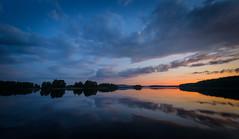August Sunset (@Tuomo) Tags: sunset summer sky lake clouds finland nikon df wideangle silence jyväskylä päijänne kärkinen korpilahti 1424mm