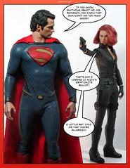 Page_2 (valleyofthedolls) Tags: actionfigure superman manofsteel hottoys hottoyssuperman hottoysblackwidow hottoysmanofsteel