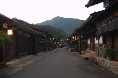 Tsumago at dawn 2