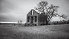 Zeska (Rodney Harvey) Tags: house abandoned stone ruins surreal spooky infrared isolation lonely desolate somber timeless meloncholy