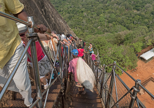 Sigiriya going down