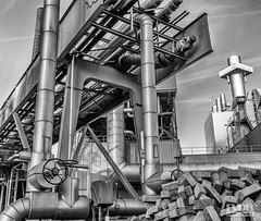 Engineering (Explored) (Frans van der Boom) Tags: fvdb nikon netherlands holland d5200 decisive moment creative flickr flickriver explore best camera prime lens eyed eye scene photography 18mm industrial engineering factory bw blackandwhite city eindhoven