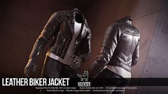 [VALE KOER] LEATHER BIKER JACKET (VALE KOER) Tags: vk vale koer valekoer sl second life secondlife uber biker leather jacket mesh blender bob